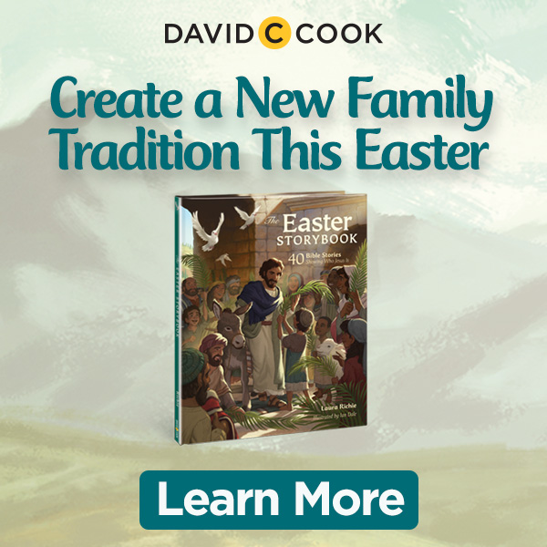 Easter Storybook Banner Ad 600x600