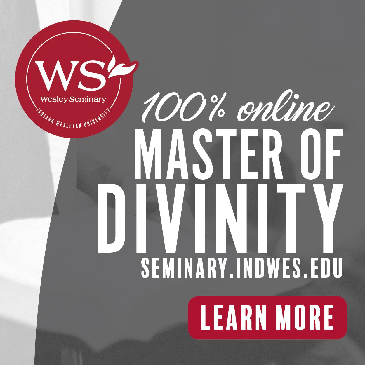 Wesley Seminar Sidebar